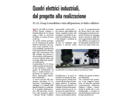 Quadri elettrici industriali: dal progetto alla realizzazione.